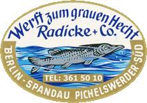 Werft zum grauen Hecht Logo